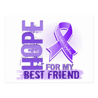 Hope For My Best Friend Hodgkins Lymphoma Postcard