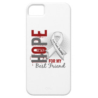 Hope For My Best Friend Lung Cancer iPhone SE/5/5s Case