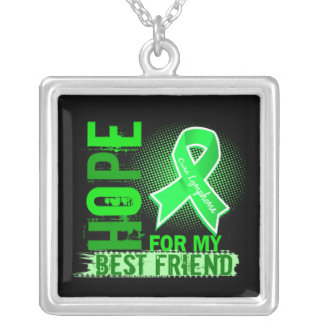 Hope For My Best Friend Lymphoma Necklace
