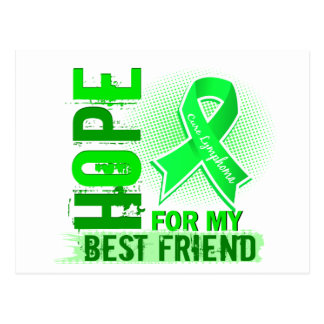 Hope For My Best Friend Lymphoma Postcard