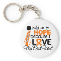 Hope For My Best Friend Multiple Sclerosis MS Keychain