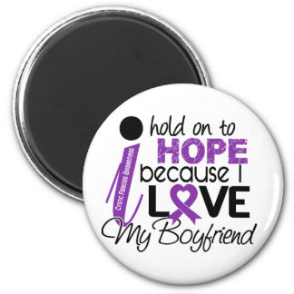 Hope For My Boyfriend Cystic Fibrosis 2 Inch Round Magnet