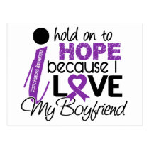 Hope For My Boyfriend Cystic Fibrosis Postcard