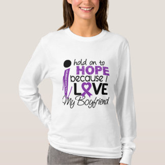 Hope For My Boyfriend Cystic Fibrosis T-Shirt