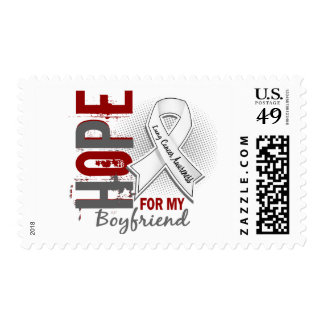 Hope For My Boyfriend Lung Cancer Postage