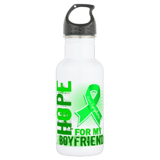 Hope For My Boyfriend Lymphoma Stainless Steel Water Bottle