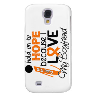 Hope For My Boyfriend Multiple Sclerosis MS Samsung Galaxy S4 Case
