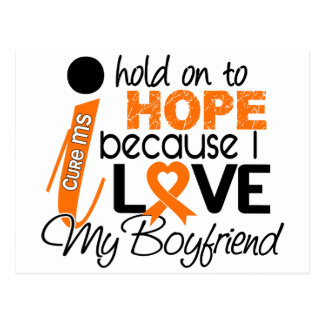Hope For My Boyfriend Multiple Sclerosis MS Postcard