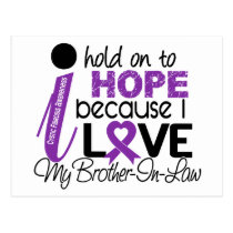 Hope For My Brother-In-Law Cystic Fibrosis Postcard