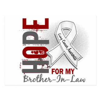 Hope For My Brother-In-Law Lung Cancer Postcard