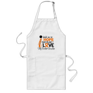 Hope For My Brother-In-Law Multiple Sclerosis MS Long Apron