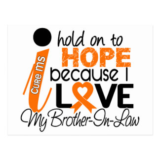 Hope For My Brother-In-Law Multiple Sclerosis MS Postcard