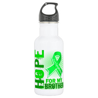 Hope For My Brother Lymphoma Water Bottle