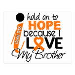 Hope For My Brother MS Multiple Sclerosis Postcard