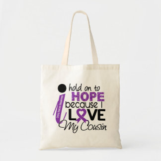 Hope For My Cousin Cystic Fibrosis Bags