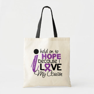 Hope For My Cousin Cystic Fibrosis Tote Bag
