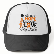Hope For My Cousin Leukemia Trucker Hat