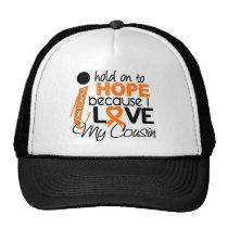 Hope For My Cousin Leukemia Trucker Hat