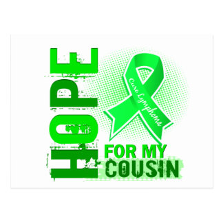 Hope For My Cousin Lymphoma Postcard