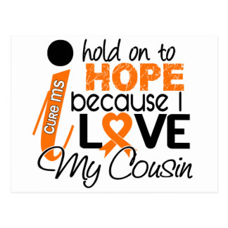 Hope For My Cousin Multiple Sclerosis MS Postcard