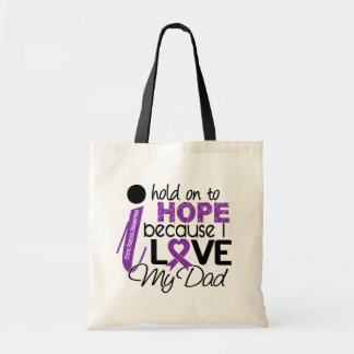 Hope For My Dad Cystic Fibrosis Tote Bags
