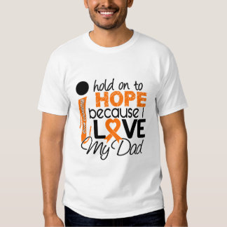 Hope For My Dad Leukemia Tshirt