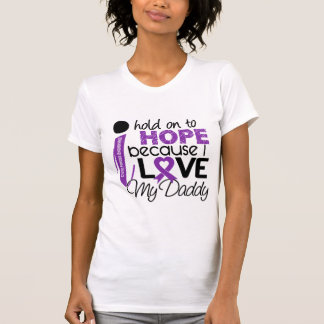 Hope For My Daddy Cystic Fibrosis T-shirt