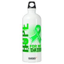 Hope For My Daddy Lymphoma Water Bottle