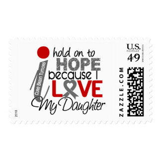 Hope For My Daughter Brain Tumor Stamps