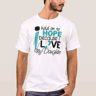 Hope For My Daughter Cervical Cancer T-Shirt