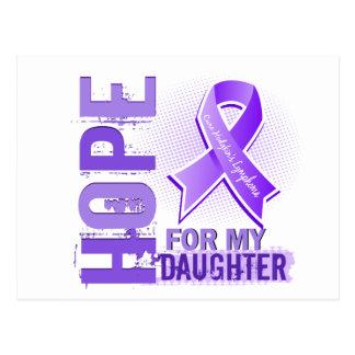 Hope For My Daughter Hodgkins Lymphoma Postcard