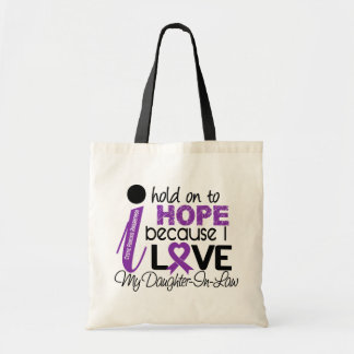 Hope For My Daughter-In-Law Cystic Fibrosis Tote Bag