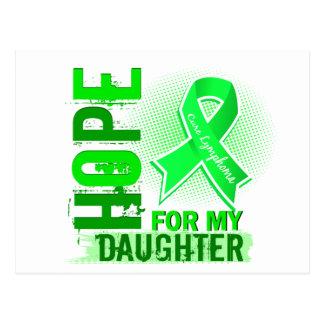 Hope For My Daughter Lymphoma Postcard