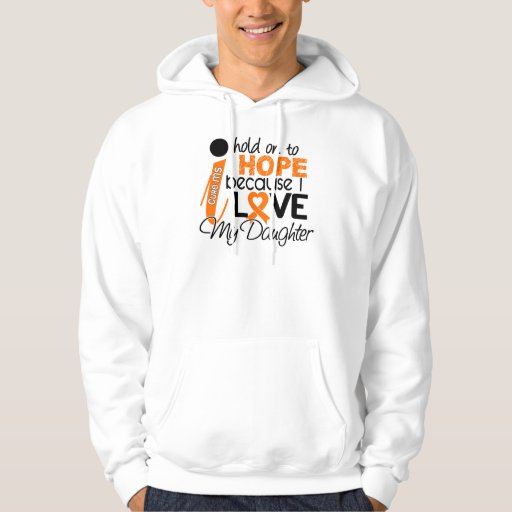 Hope For My Daughter Multiple Sclerosis MS Hooded Pullovers