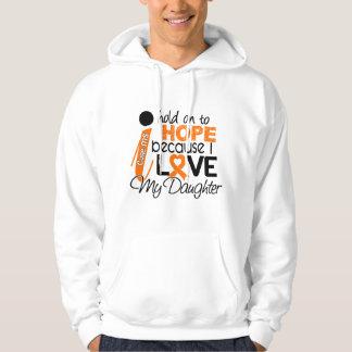 Hope For My Daughter Multiple Sclerosis MS Hooded Sweatshirt