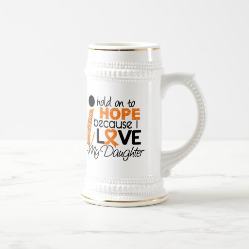 Hope For My Daughter Multiple Sclerosis MS Mugs