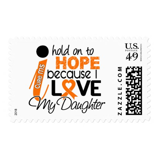 Hope For My Daughter Multiple Sclerosis MS Postage Stamps