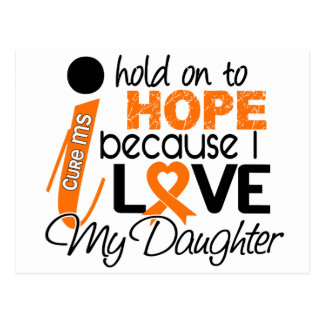 Hope For My Daughter Multiple Sclerosis MS Postcard