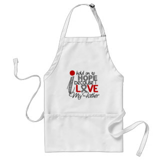 Hope For My Father Brain Tumor Adult Apron