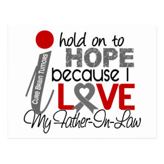 Hope For My Father-In-Law Brain Tumor Postcard