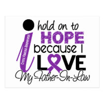 Hope For My Father-In-Law Cystic Fibrosis Postcard