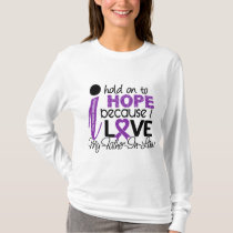 Hope For My Father-In-Law Cystic Fibrosis T-Shirt