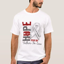 Hope For My Father-In-Law Lung Cancer T-Shirt