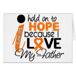 Hope For My Father Multiple Sclerosis MS Greeting Cards