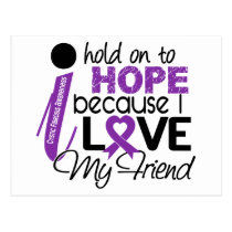 Hope For My Friend Cystic Fibrosis Postcard