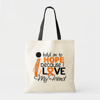 Hope For My Friend Multiple Sclerosis MS Canvas Bags