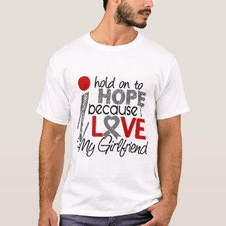 Hope For My Girlfriend Brain Tumor T-Shirt