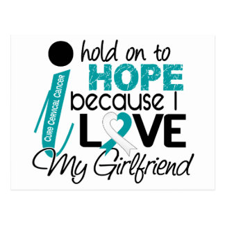 Hope For My Girlfriend Cervical Cancer Postcard