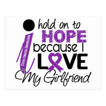 Hope For My Girlfriend Cystic Fibrosis Postcard