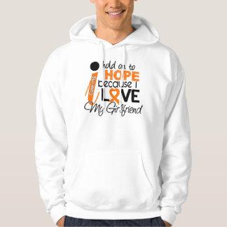 Hope For My Girlfriend Multiple Sclerosis MS Hoodie